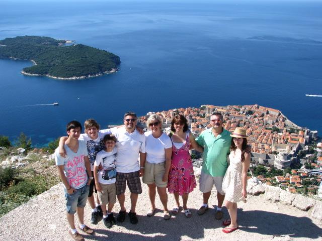 Dubrovnik from Srjd Hill