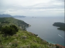 view from dubrovnik to east