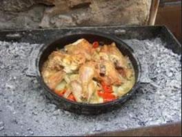 traditonally raoasted meat